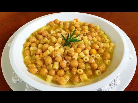 pasta-e-ceci-della-nonna-di-rita-chef:-piatto-tipico-della-tradizione-italiana.-genuino-e-salutare.