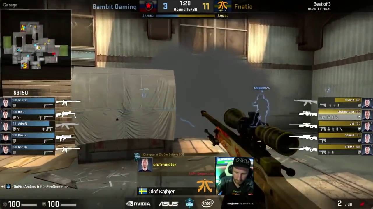 Esl Cologne Stream