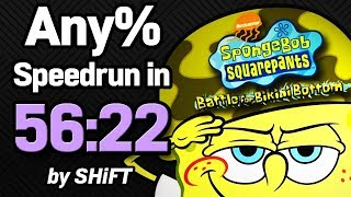 SpongeBob SquarePants: Battle for Bikini Bottom Any% Speedrun in 56:22 (WR on 6/3/2018)