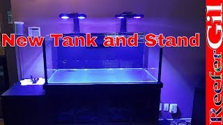 Build Series|Eps. 8| Saltwater Tank and Aquarium Stand Revealed