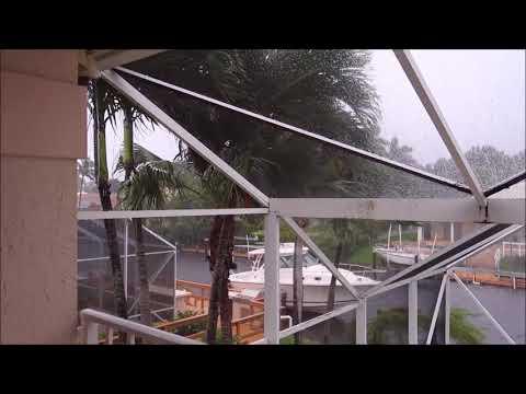 Hurricane Irma in Jupiter, Florida