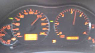 Toyota Avensis 2.2 177pk/400nm 0-100 acceleration