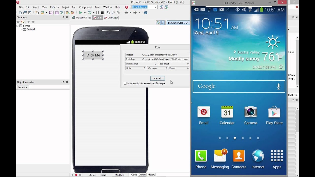 Setting up your Windows Machine for Android Development with RAD Studio,  Delphi and C++Builder XE6