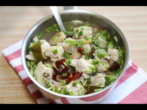 Thai Chicken Soup Recipe / How to make Thai Chicken Soup Recipe