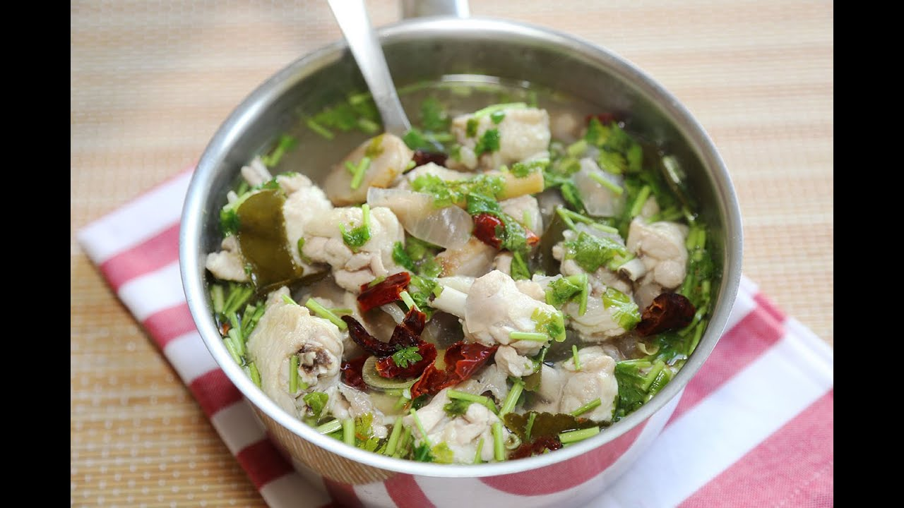 Thai Chicken Soup Recipe / How to make Thai Chicken Soup ...