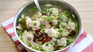 Thai Chicken Soup Recipe / How to make Thai Chicken Soup Recipe