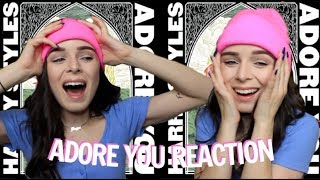 HARRY STYLES ADORE YOU REACTION (omg)