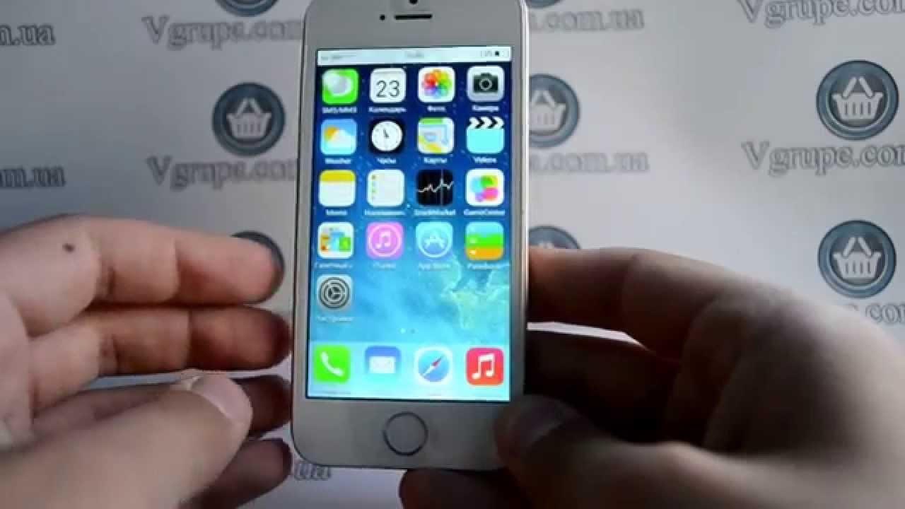 Прошивка Китайский Айфон 5s на Андроиде - YouTube