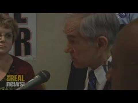 Ron Paul answers journalists' questions