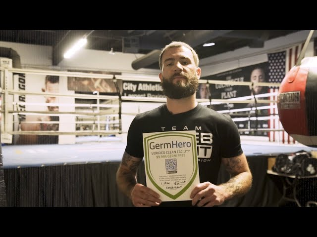 Caleb Plant Partners with Germ Hero - IBF Super Middleweight World Champion