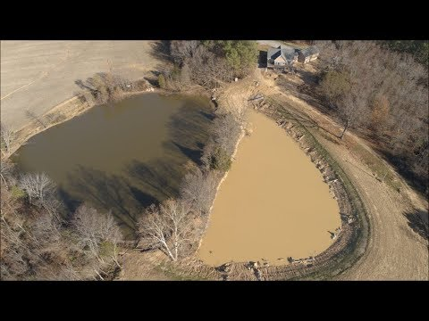 Lake Fill Update 11-26-17 Lets take the Drone Out.... Illinois Country Living