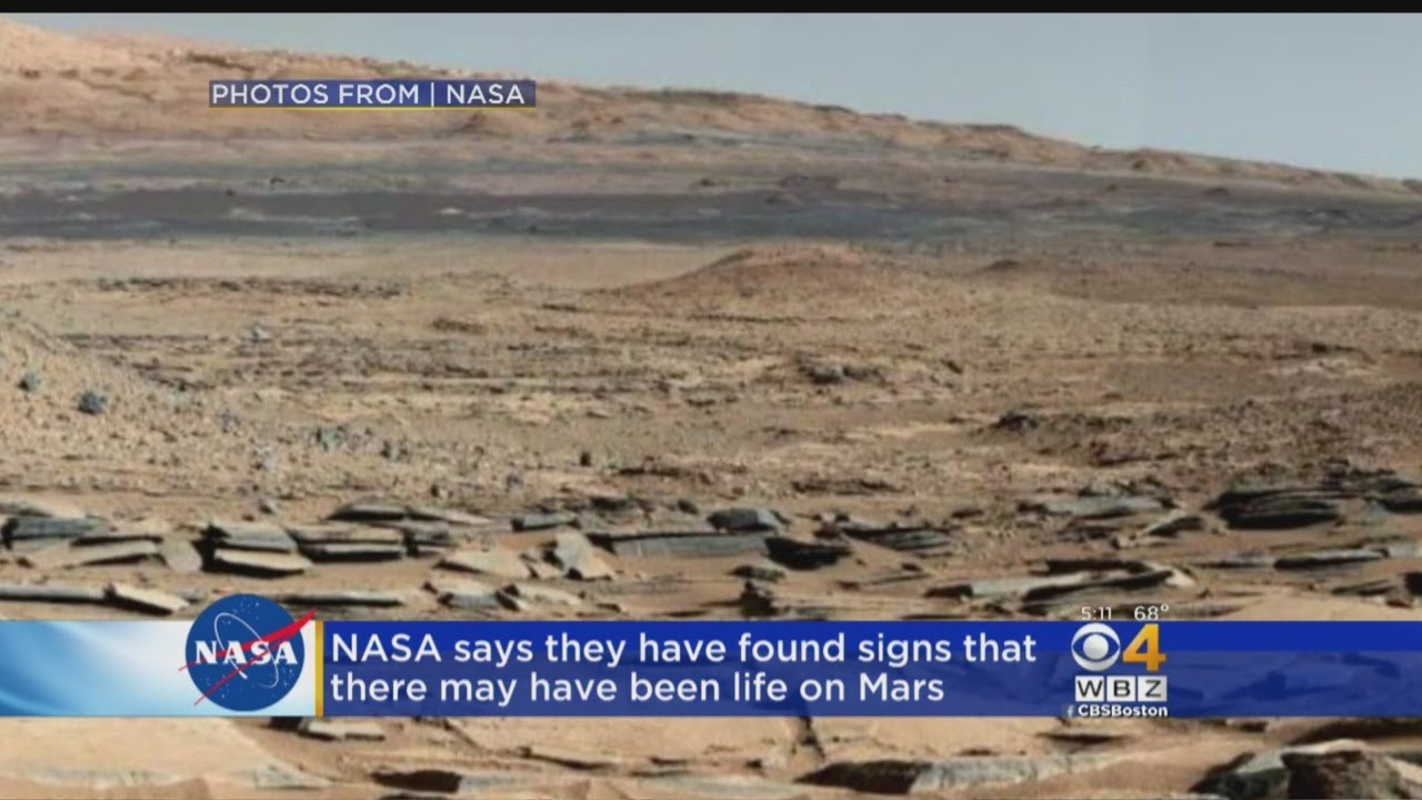 Life On Mars? NASA Finds Organic Matter On Red Planet ...