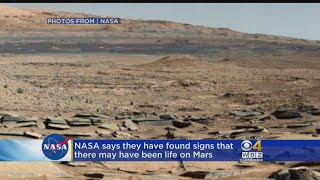 Life On Mars? NASA Finds Organic Matter On Red Planet