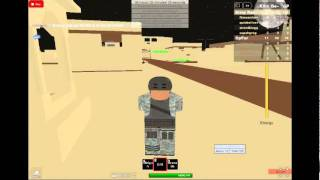 lets play call uff duty roblox part 1