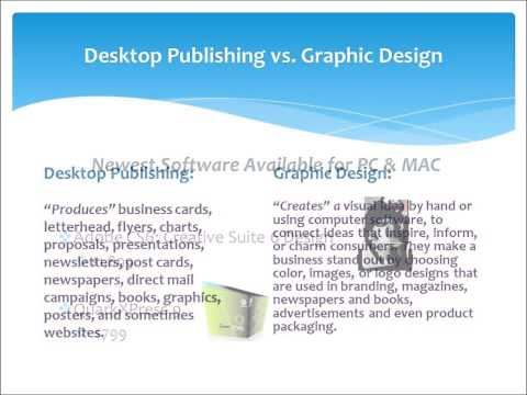 Desktop Publishing vs. Graphic Design
