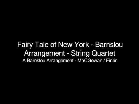 Fairy Tale of New York - Barnslou Arrangement - String Quartet