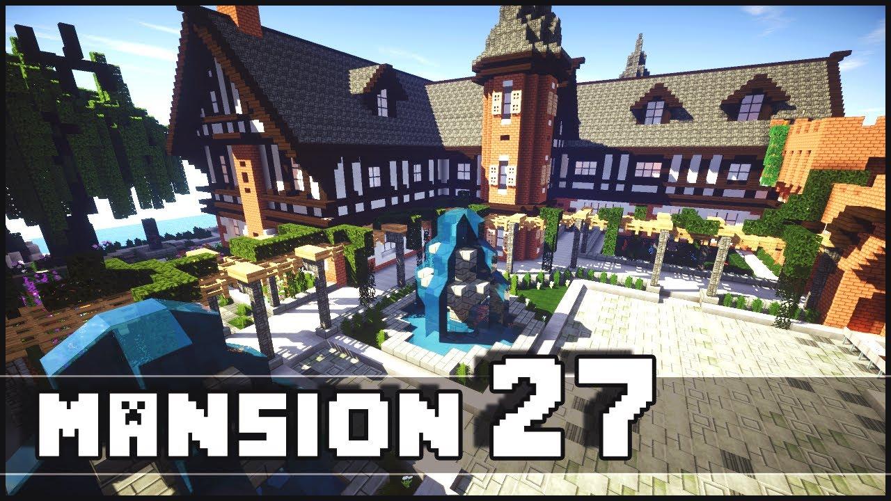 minecraft mansion 27 youtube. Black Bedroom Furniture Sets. Home Design Ideas