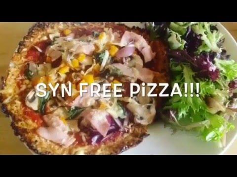 Syn Free Cauliflower Pizza Best Recipe Ever