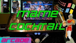 Mame Cocktail Arcade With 3400 Games - Welcome To The Micro Arcade - Retro Game Players
