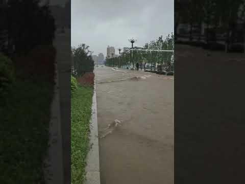 强降雨袭华北 五台山现66年来最大暴雨(图/3视频)