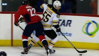 Bruins Noel Acciari Sean Kuraly too strong down low for Capitals