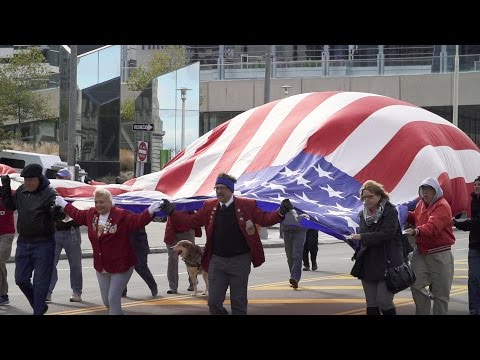 2016 Veterans Day - Recognition Ceremony and Parade at Cleveland City Hall