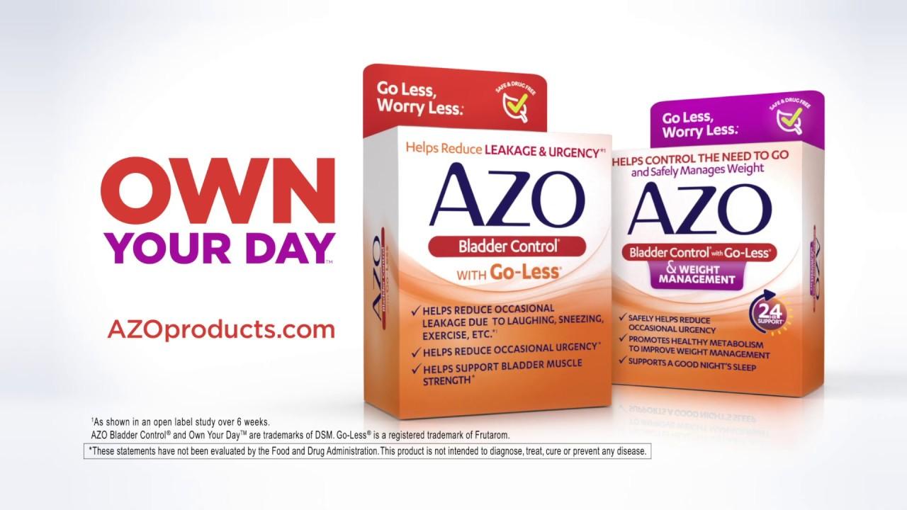 Azo Bladder Control >> Azo Bladder Control With Go Less Had It Spot
