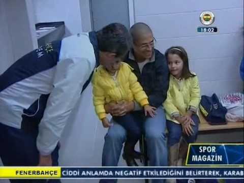 Alex De Souza Ve Fenerbahçe Acıbadem Ziyareti - Spor Magazin [FB TV]