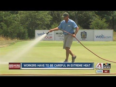 """Heat sizzles Kansas City metro area on summer """"fry""""day"""
