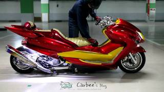 YAMAHA Monster New Majesty(4D9) Air Suspension