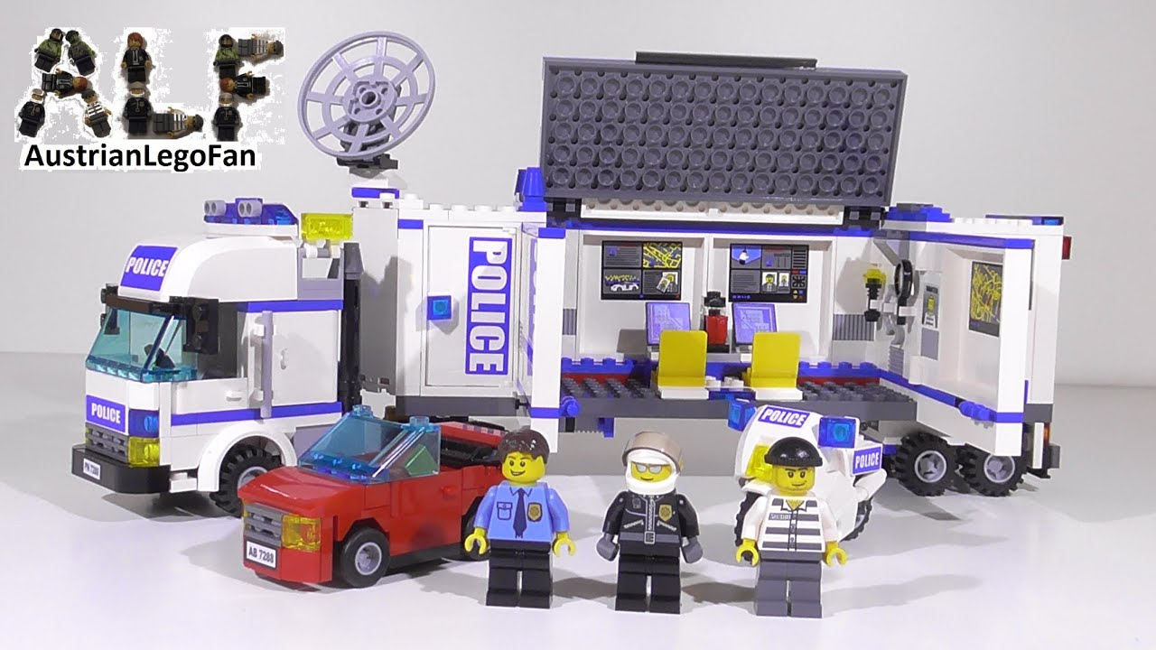 lego polizei truck