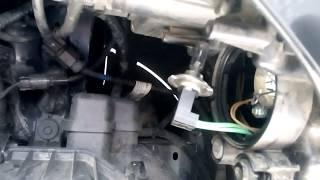 Замена лампы передних габаритов хендай ix35 \ HYUNDAI IX35
