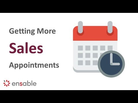 Sales Approach Techniques - Sales Appointment Setting Examples Tips and Strategy