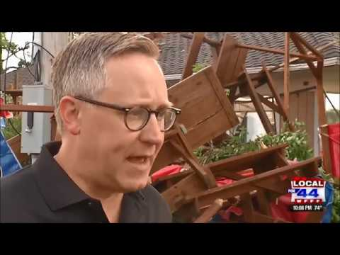 EF-2 Tornado Hits The Erie County Fairgrounds, Hamburg, New York July 20, 2017