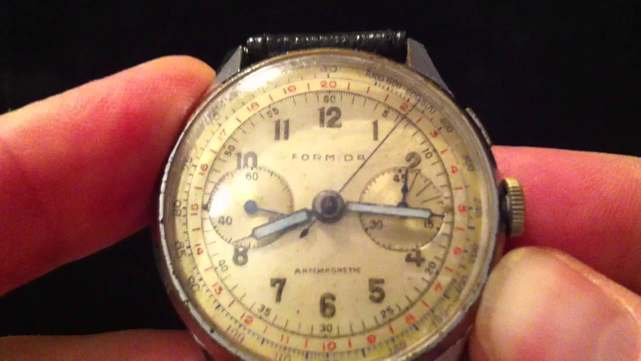 how to use a chronograph
