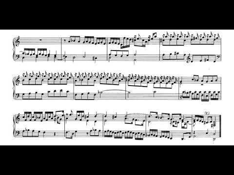 Johann Pachelbel - Fantasia in D Minor for Harpsichord [Score-Video]