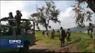 ¡Dispárennos! gritaban pobladores de Tepeaca a Guardia Nacional