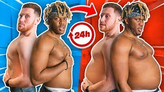 SIDEMEN MOST WEIGHT GAINED IN 24 HOURS CHALLENGE