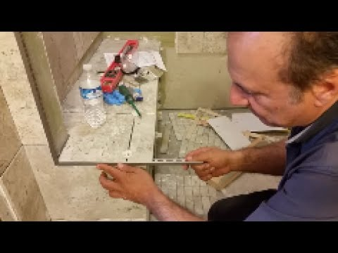 How To Cut Aluminum Trim For Tile Outside Corner Threshold The Easy Way