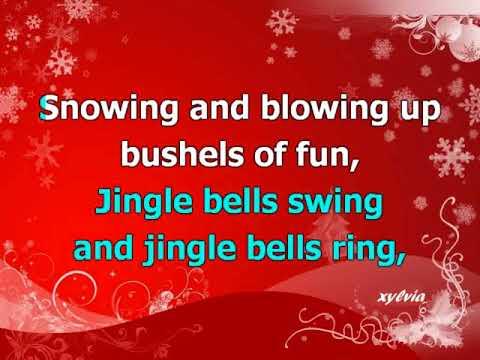 Jingle Bell Rock (karaoke) jazz