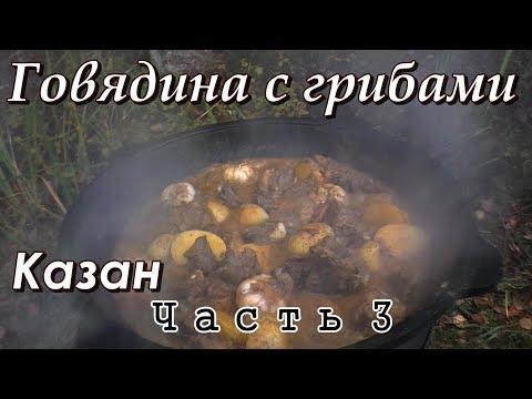 Говядина с грибами в сливочном соусе — рецепт с фото