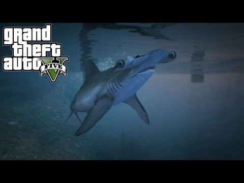 GTA 5 Next Gen - I'm a Shark