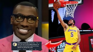 NBA WORLD REACTS TO LAKERS WIN OVER ROCKETS! THT Drops 23 Pts!