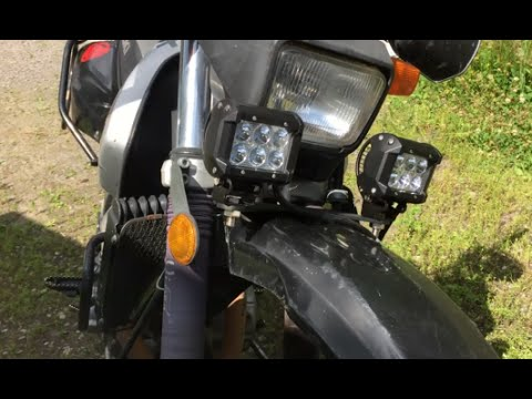 Jns engineering motorcycle lightbar install youtube jns engineering motorcycle lightbar install aloadofball Gallery