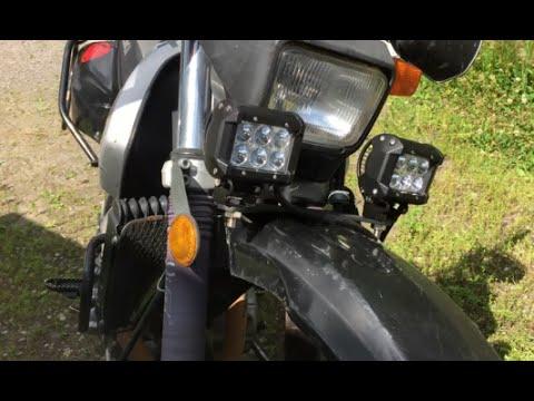 Jns engineering motorcycle lightbar install youtube jns engineering motorcycle lightbar install aloadofball Image collections