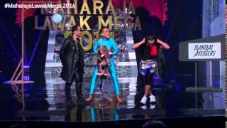 Sorotan Maharaja Lawak Mega 2014 - Minggu 4