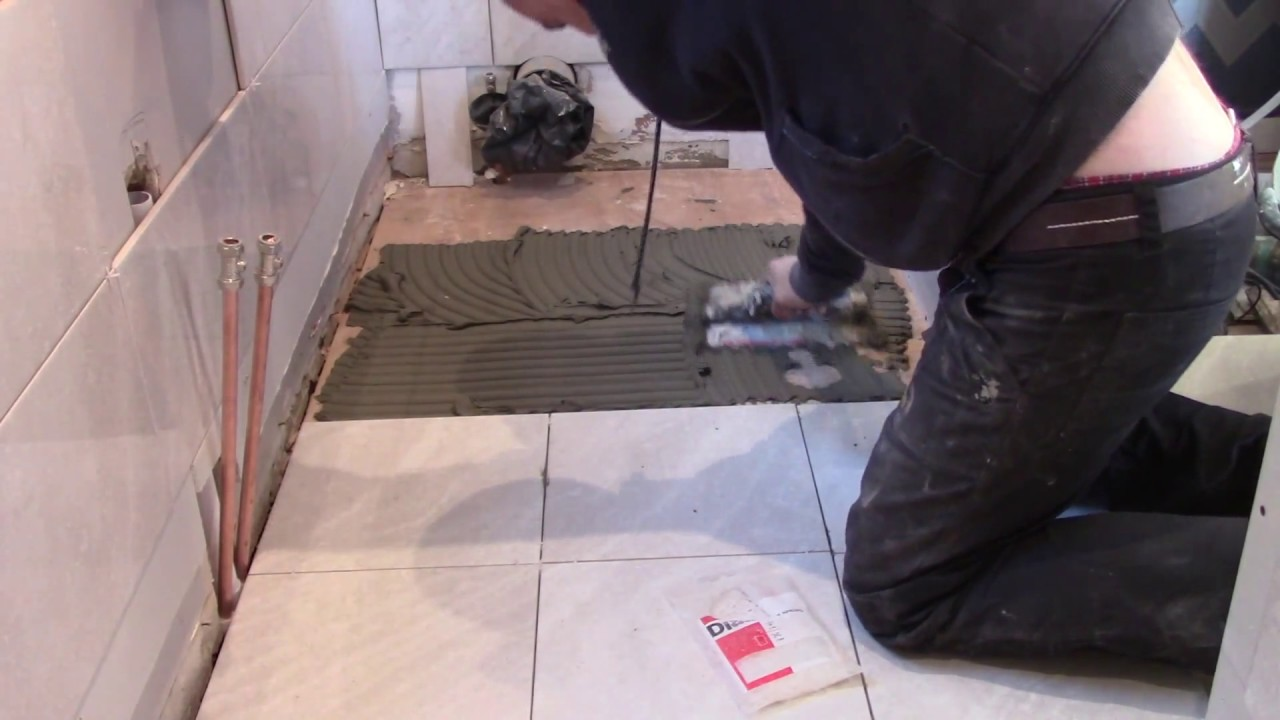 How To Do Tiling On Wooden Floor 18 Mm Plywood Board You