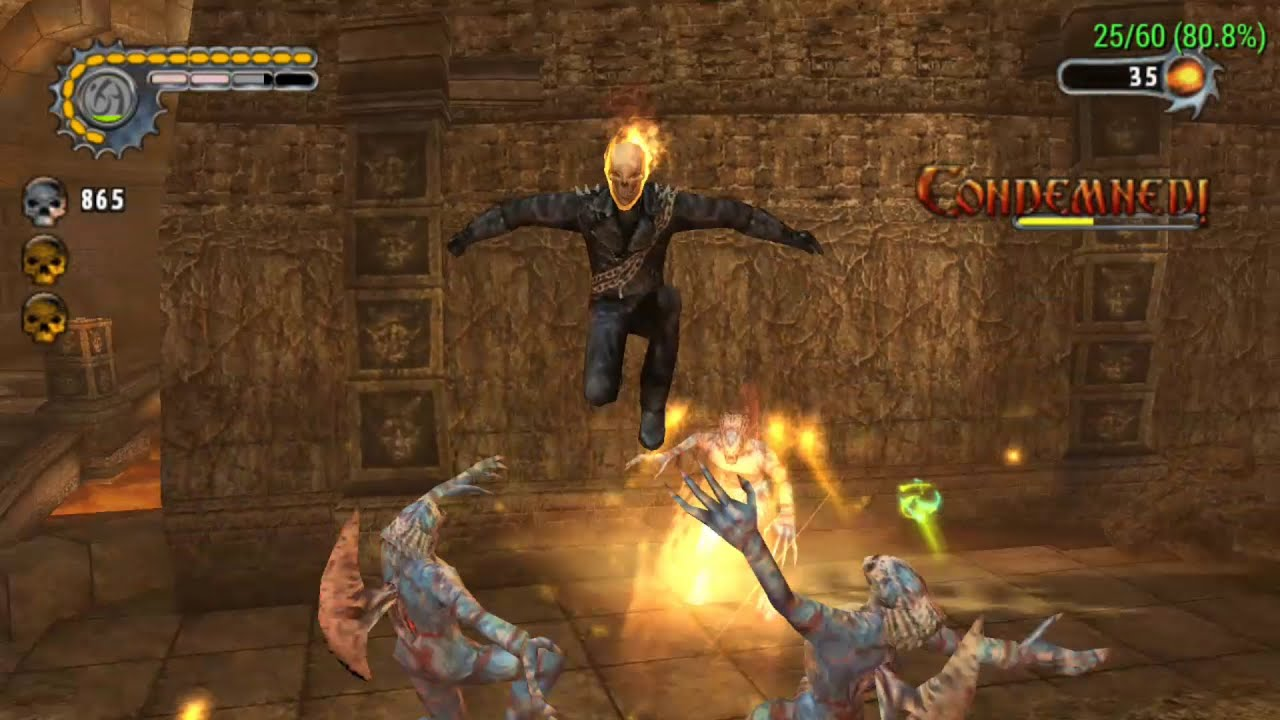 Ghost Rider Video Game Ppsspp
