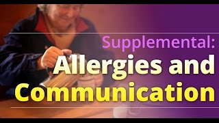 eFoodHandlers presents: Allergies and Communication