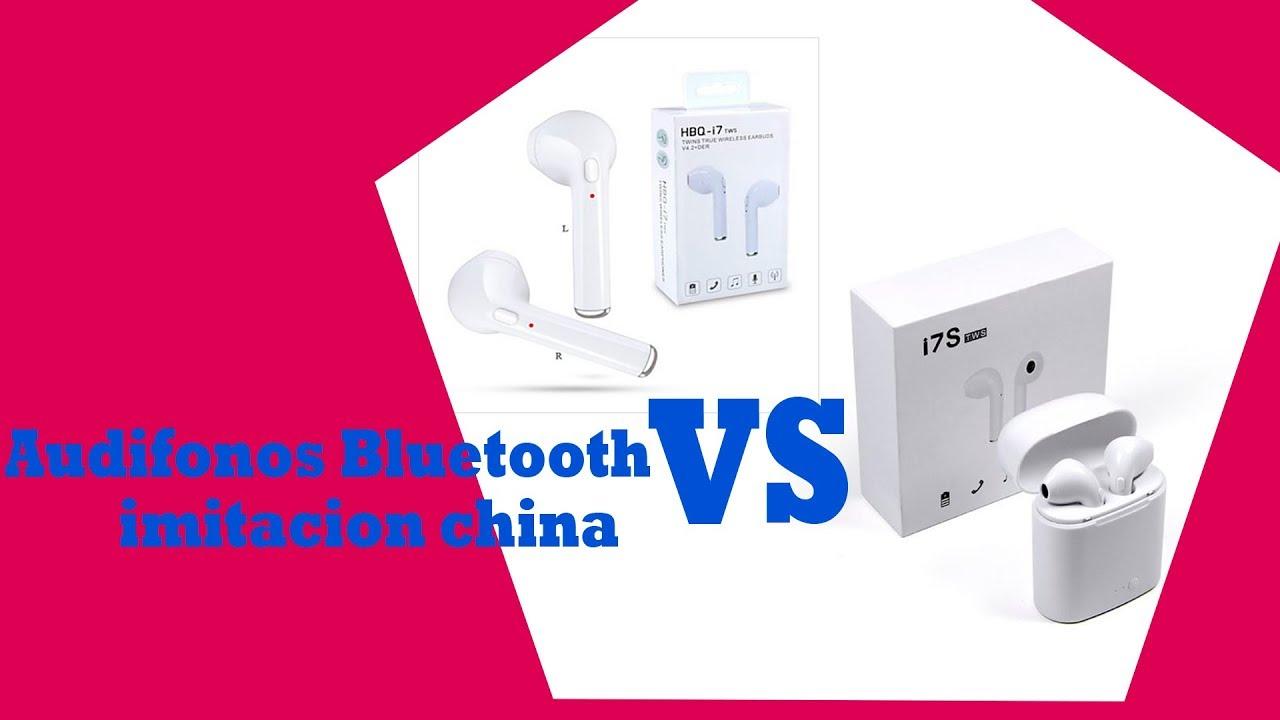 14f9f007539 Comparativa audífonos I7 tws Vs I7 S TWS imitacion china earpods ...
